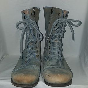 Steve Madden Troopa Combat Boots  size US7.5